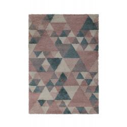Kusový koberec Dakari Nuru Blushpink/Cream/Blue