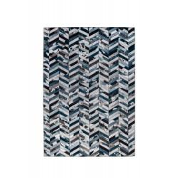 Kusový koberec Dakota Faux Hide Jesse Blue/Grey