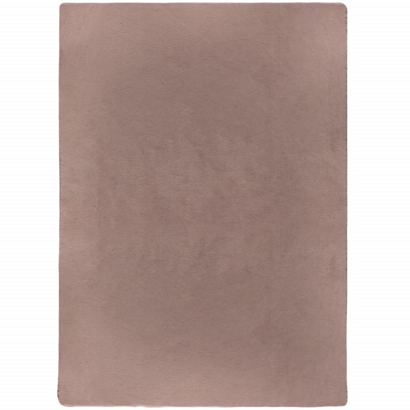 Kusový koberec Emelia Faux Fur Bergen Blush Pink
