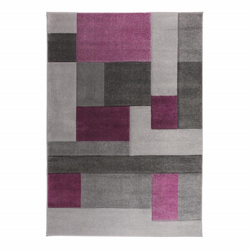 Kusový koberec Hand Carved Cosmos Purple/Grey