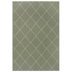 Kusový koberec Flatweave 104830 Green/Cream