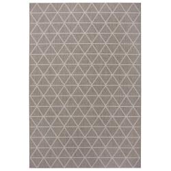 Kusový koberec Flatweave 104831 Light-brown/Cream
