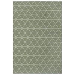 Kusový koberec Flatweave 104836 Green/Cream