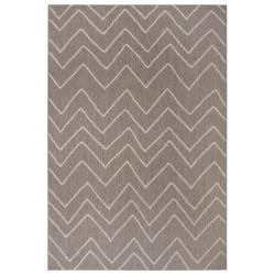 Kusový koberec Flatweave 104838 Light-brown/Cream