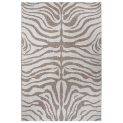 Kusový koberec Flatweave 104844 Light-brown/Cream