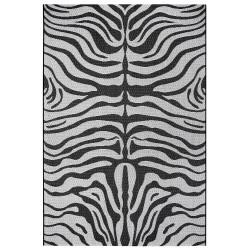 Kusový koberec Flatweave 104845 Black/Cream