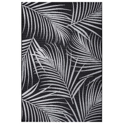 Kusový koberec Flatweave 104848 Black/Cream