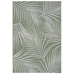 Kusový koberec Flatweave 104850 Green/Cream