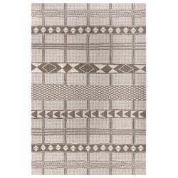 Kusový koberec Flatweave 104851 Light-brown/Cream