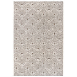 Kusový koberec Flatweave 104859 Light-brown/Cream