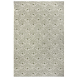 Kusový koberec Flatweave 104862 Green/Cream