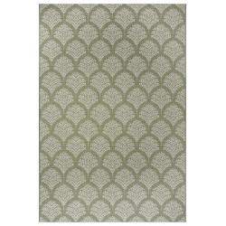 Kusový koberec Flatweave 104868 Green/Cream