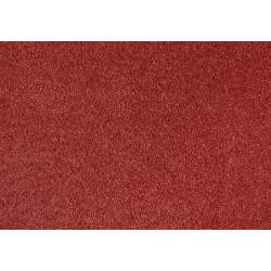 Metrážový koberec Satine 141 (KT) terakota