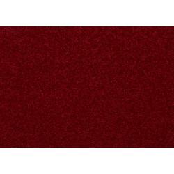 Metrážový koberec Montana 111 červená