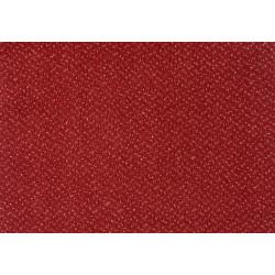 Metrážový koberec Optima Essential 120 červená