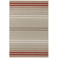 Kusový koberec Beach 103851 Red/Grey/Cream