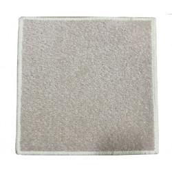 Kusový koberec Eton 2019-60 bílý čtverec
