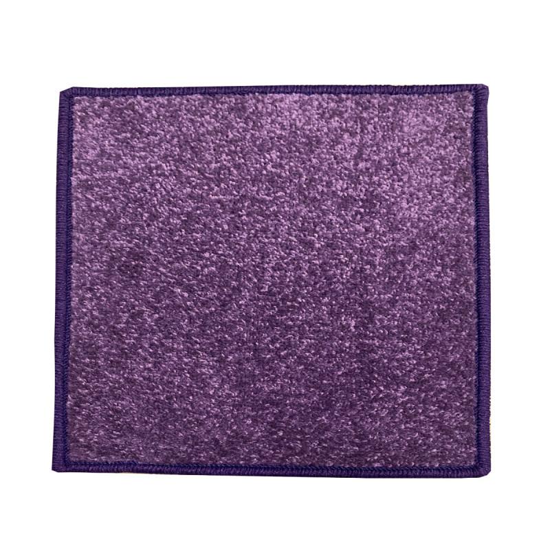 Kusový koberec Eton 2019-45 fialový čtverec