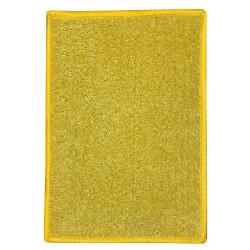 Kusový koberec Eton 2019-502 žlutý