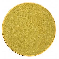 Kusový koberec Eton 2019-502 žlutý kruh