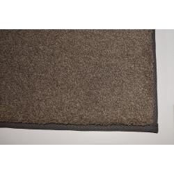 Kusový koberec Supersoft 420 hnědý