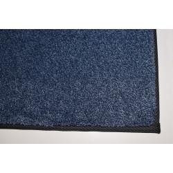Kusový koberec Supersoft 710 tm. modrý