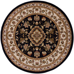 Kusový koberec Sincerity Royale Sherborne tm. modrý kruh