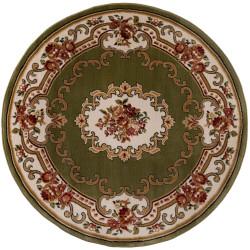 Kusový koberec Sincerity Royale Dynasty Green kruh