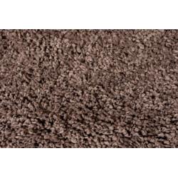 Kusový koberec Brilliance Sparks Light-brown kruh
