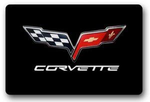 Custom-Doormat-Corvette-Door-Mat-Corvette-Logo-Carpet-Outdoor-Logo-Mats-Bathroom-Rugs-Doorway-Mats-Lounge