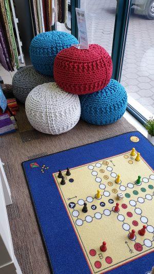 Ve volných chvílích si zahrajte kobercové člověče