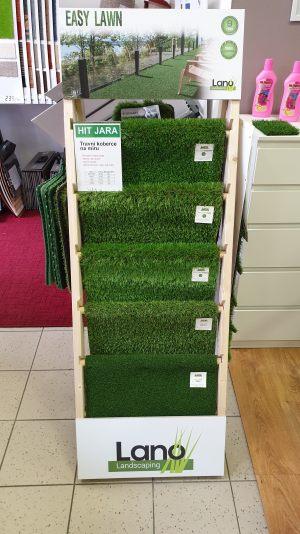 Jsme rovněž specialisté na travní koberce!
