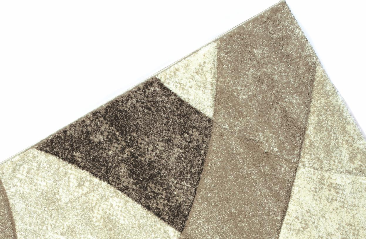 Kusový koberec Daisy Carving béžový