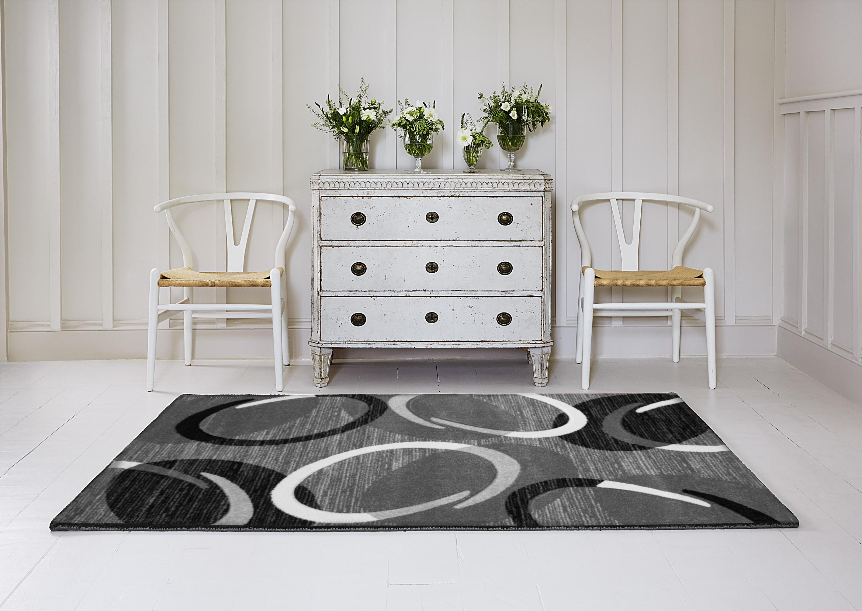 Kusový koberec Spoltex Infinity šedý