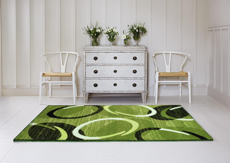 Kusový koberec Infinity zelený od firmy Spoltex