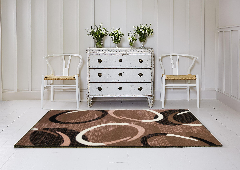 Kusový koberec Infinity hnědý