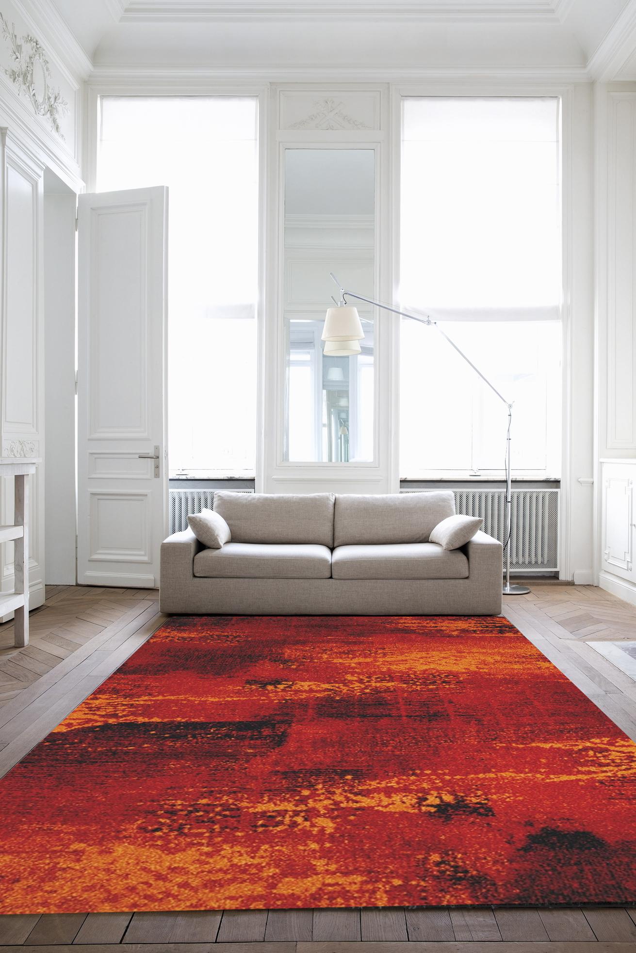 Kusový koberec Infinity červený