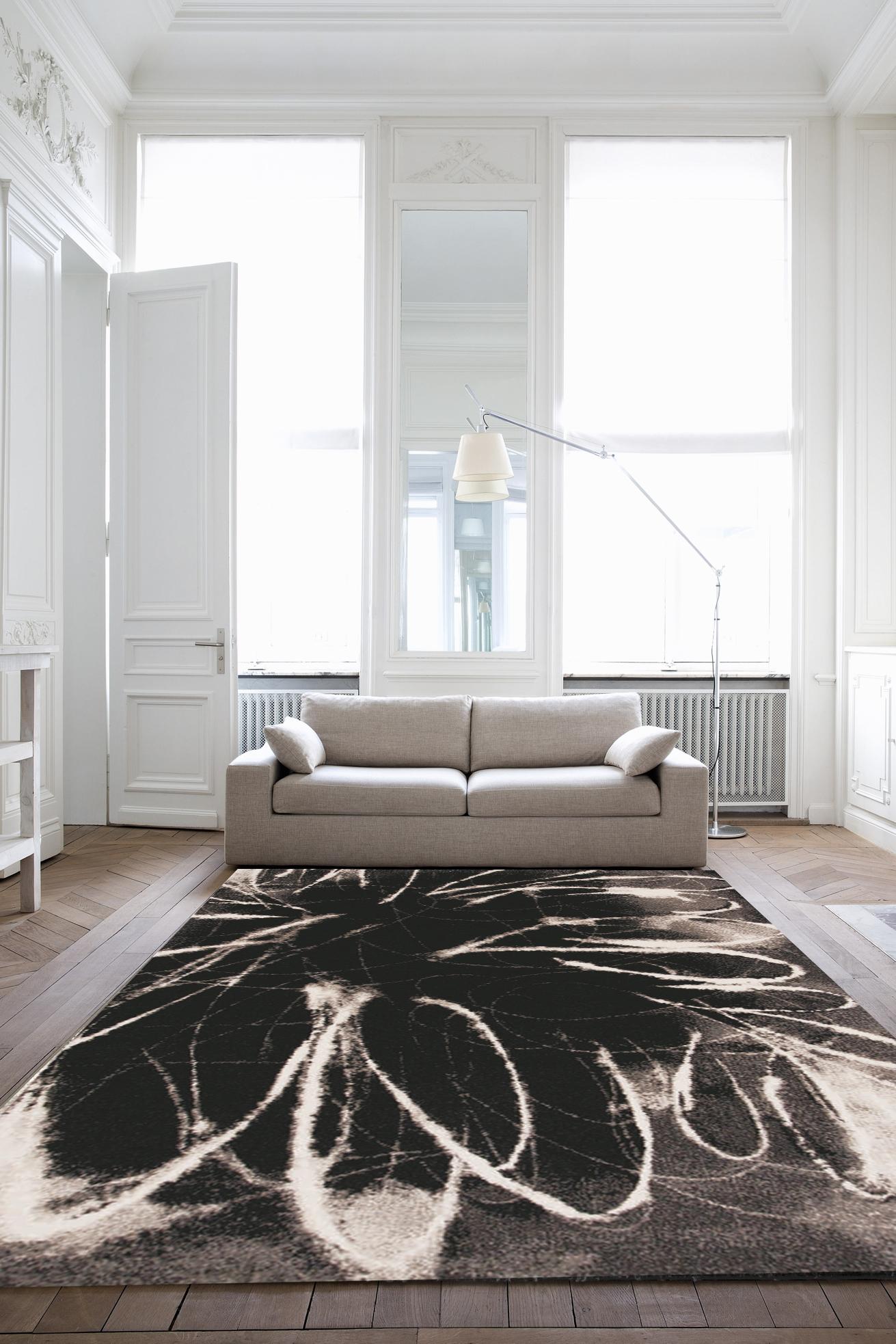Kusový koberec Spoltex Infinity black