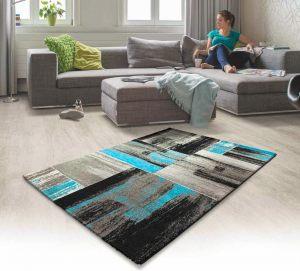 Kusový koberec Lima 1350 turkis