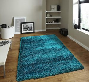 Kusový koberec Bursa dark teal