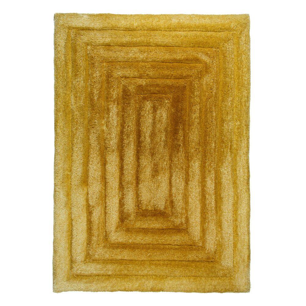 Flair Rugs koberce Kusový koberec Verge Ridge Ochre - 160x230 cm