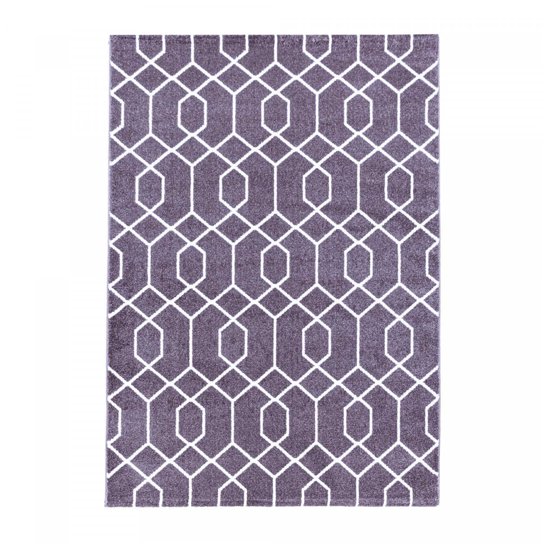 Ayyildiz koberce Kusový koberec Efor 3713 violet - 160x230 cm