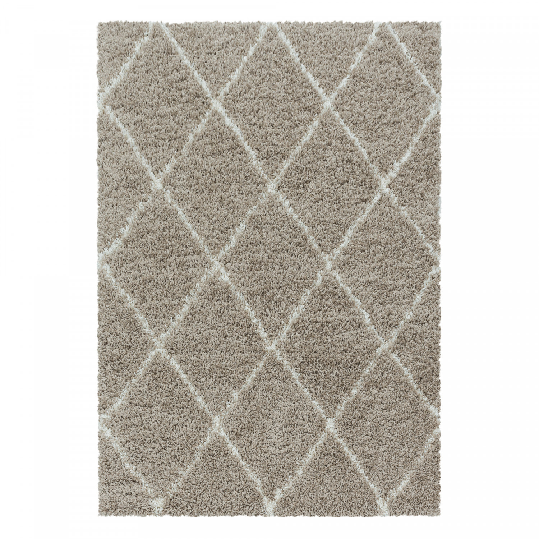 Ayyildiz koberce Kusový koberec Alvor Shaggy 3401 beige - 120x170 cm