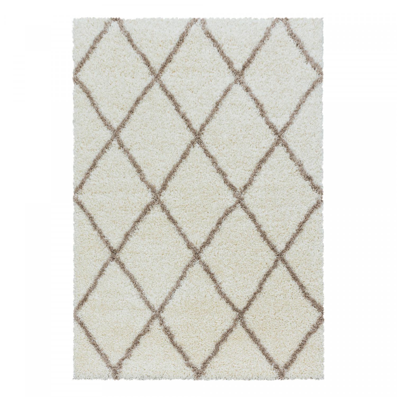 Ayyildiz koberce Kusový koberec Alvor Shaggy 3401 cream - 120x170 cm