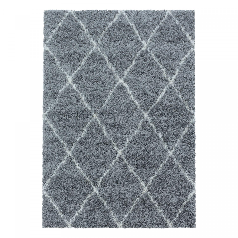 Ayyildiz koberce Kusový koberec Alvor Shaggy 3401 grey - 120x170 cm