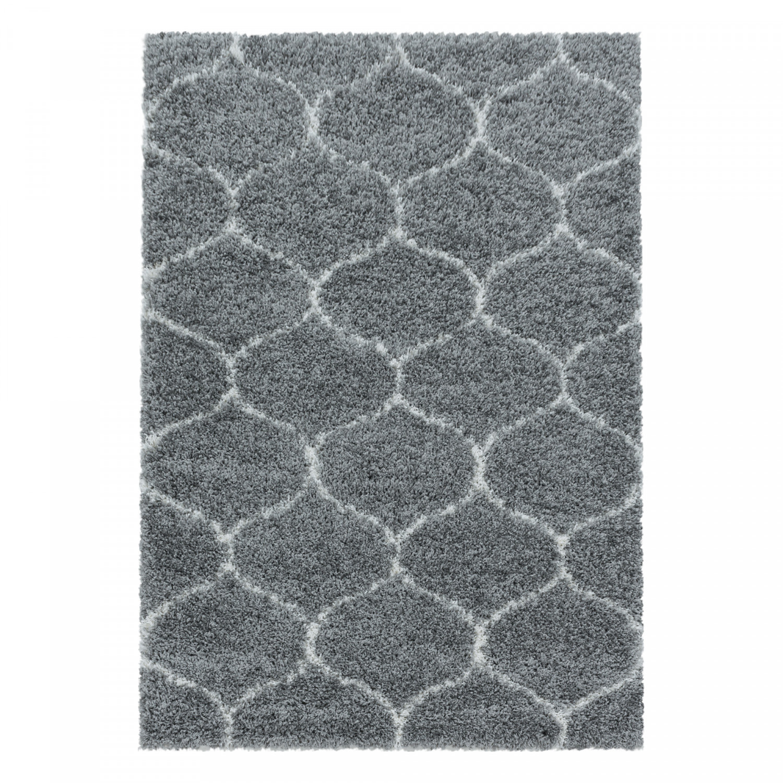 Levně Ayyildiz koberce Kusový koberec Salsa Shaggy 3201 grey - 120x170 cm Šedá