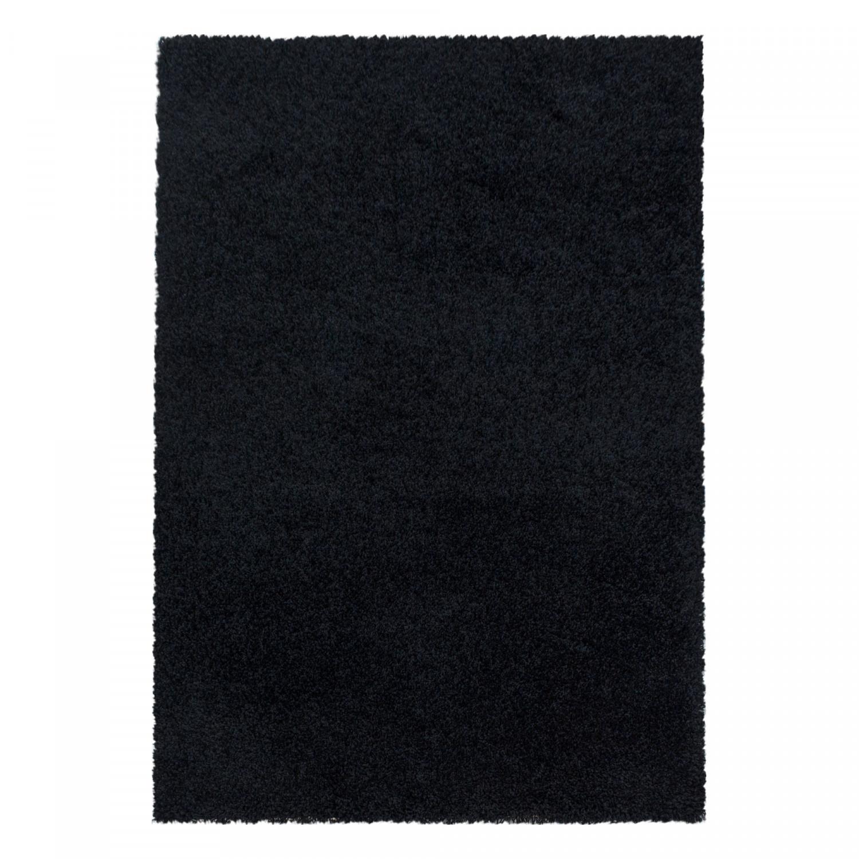 Ayyildiz koberce Kusový koberec Sydney Shaggy 3000 black - 160x230 cm