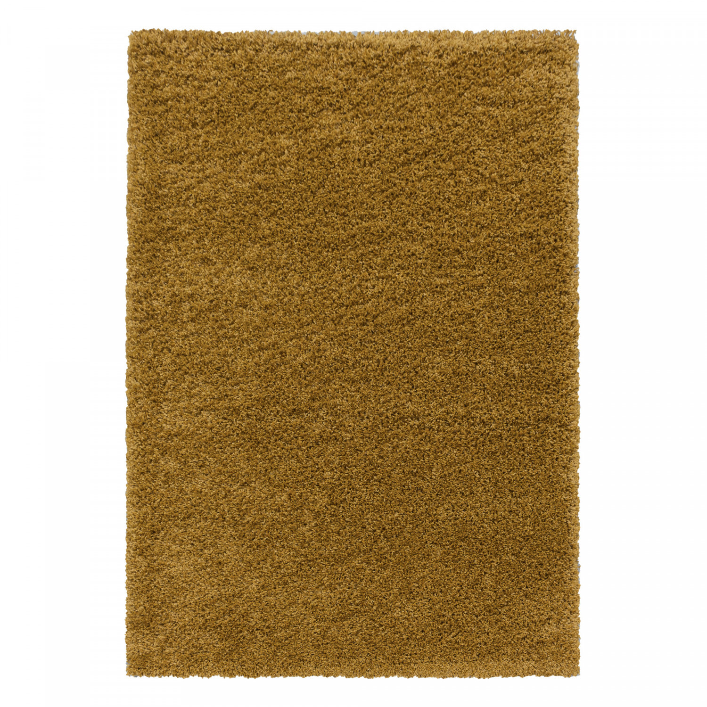 Ayyildiz koberce Kusový koberec Sydney Shaggy 3000 gold - 160x230 cm