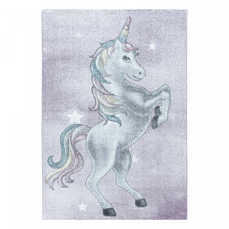 Ayyildiz koberce Dětský kusový koberec Funny 2102 violet - 200x290 cm