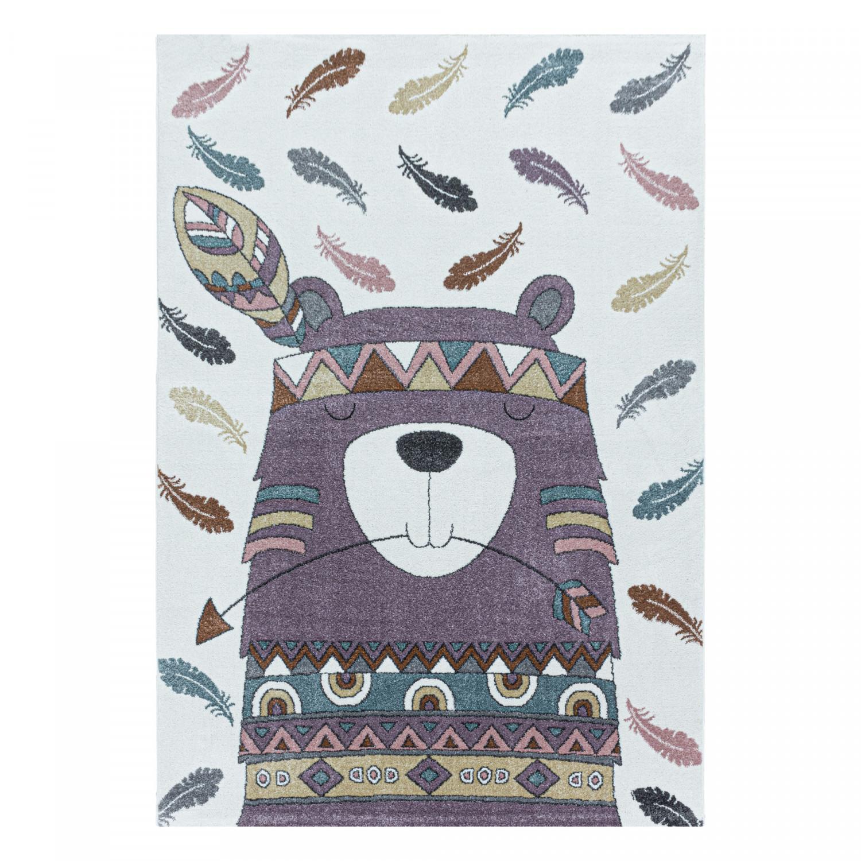 Ayyildiz koberce Dětský kusový koberec Funny 2104 violet - 160x230 cm